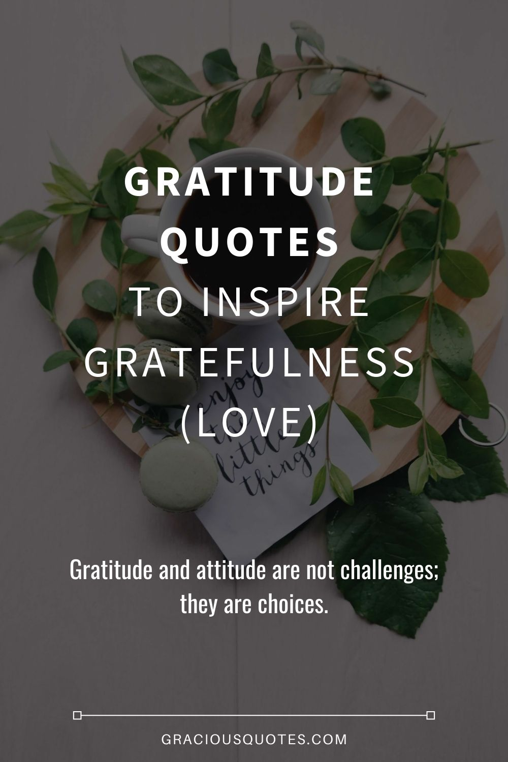 Gratitude Quotes to Inspire Gratefulness (LOVE) - Gracious Quotes