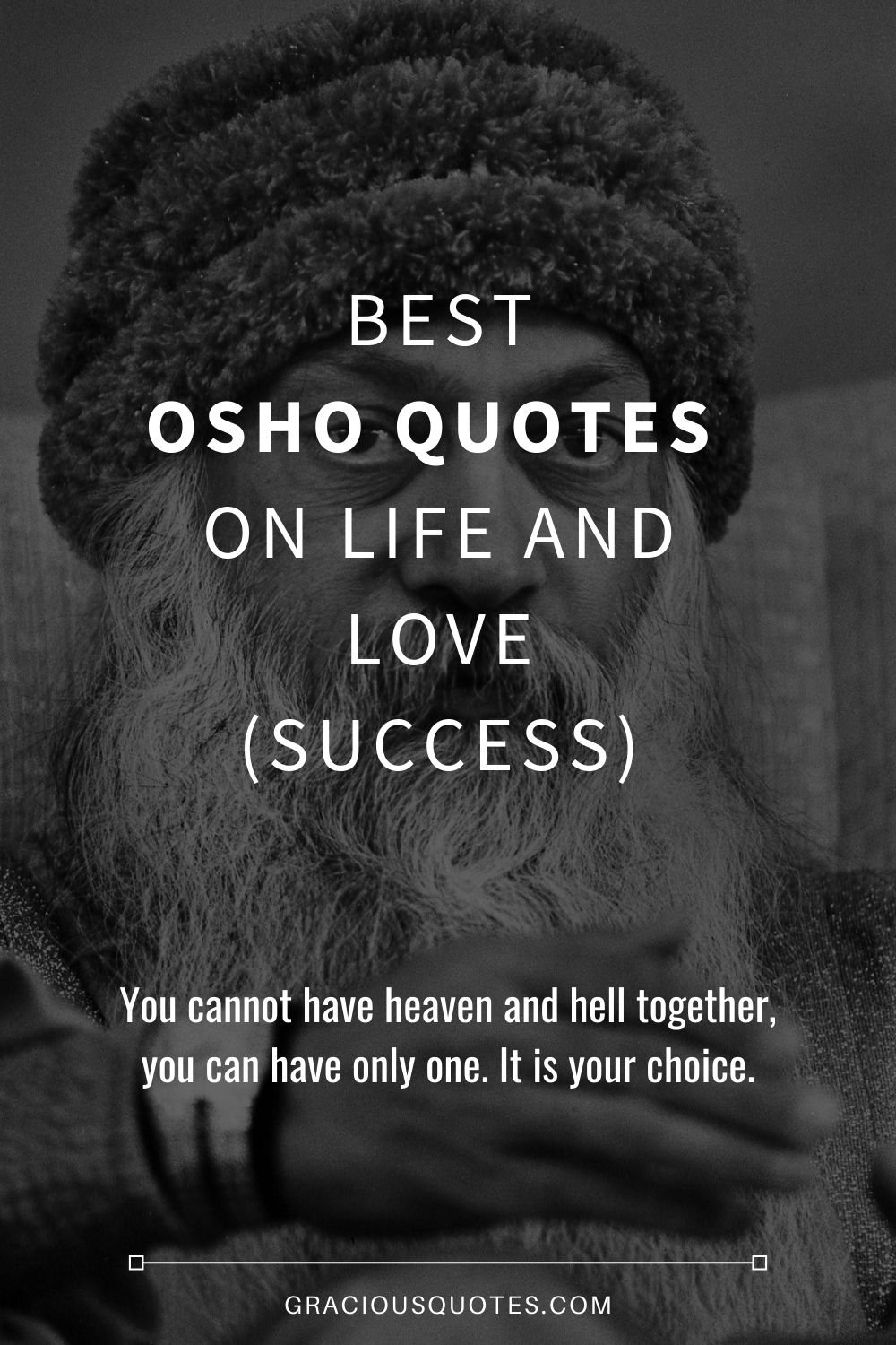 Best Osho Quotes on Life and Love (SUCCESS) - Gracious Quotes